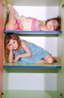 DIY: Børn plads opbevaring projekter