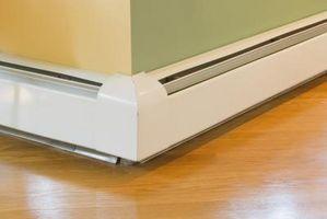 Hydrostatisk elektriske Baseboard varmeapparater vs elektriske Element Baseboard varmeapparater