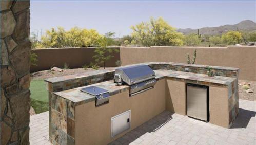 Hvordan til at bygge din egen udendørs grill køkken