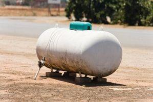 Hvor meget propan bruger en rækkevidde?