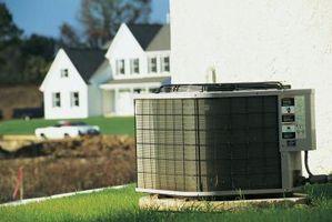 Udendørstemperaturen kan påvirke centrale AC?