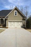 Har et hus har en Garage eller Carport?