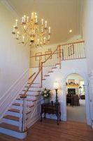 Hvordan man kan dekorere en entre og trappe