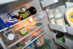 Sådan foretages fejlfinding af en GE køleskab, der ikke er køling