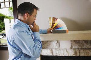 Hvad forberedelse er nødvendig for at male pejsen mursten?