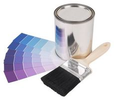 Hvordan man kan male med en flad maling Over en Satin Finish