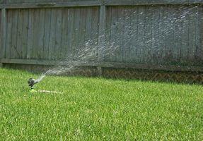 Sådan reparation Sprinkler & vandingssystemer