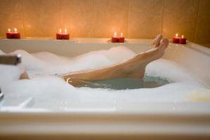 Hvordan kan jeg gøre min Jacuzzi romantisk?