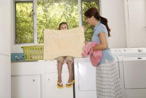 Ideer til tøjvask værelset funktioner