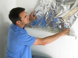 Er køkkenet aluminiumsfolie det samme som en folie strålende adskillelse?