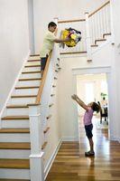 Retningslinjer for opbygning af kontrol: trappe håndlister