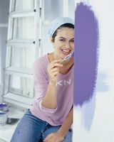 Hvordan man kan dekorere en buksetrold pige soveværelse i lilla