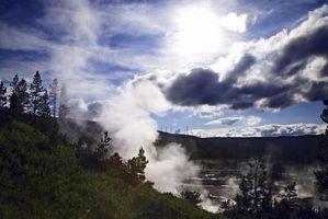 Geotermisk varme Flux vs Solar isolering