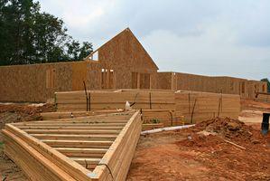 Elementer er nødvendige for at opbygge et hjem