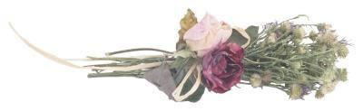 Eksempler på hvordan man bruger tørrede blomster på Grapevine kranse