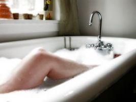 Luksuriøst badeværelse Makeover ideer