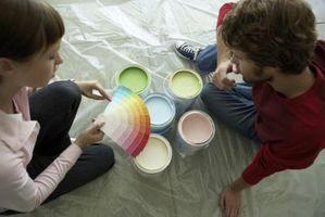 Hvilken slags maling til at male et Vinyl gulv?