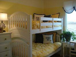 Hvordan man kan dekorere et soveværelse til tvillinger
