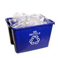 Brugen af plastflasker i konkrete blandinger