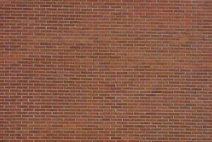 Sådan tandbøjle murede vægge Under opførelse
