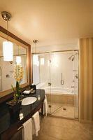 De bedste væggen teksturer til badeværelser