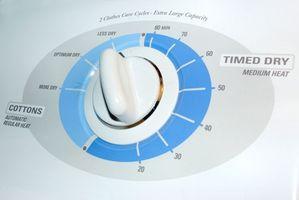 Hvordan til at rense snavs fra inde i en tørretumbler