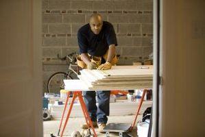 Anvisninger på bygning Garage opbevaringsskabe