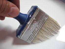 Sådan bruges glasur til at blødgøre vægfarve