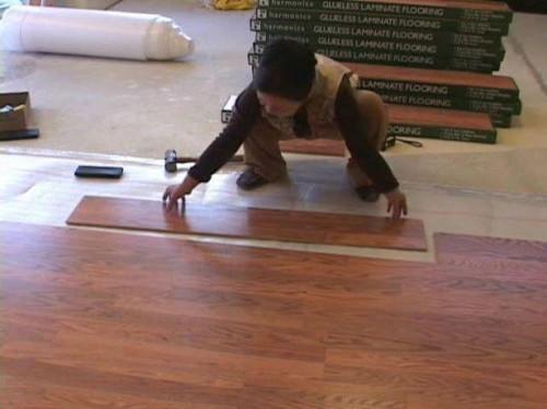 Hvordan man kan sætte en vandseng på Pergo gulv