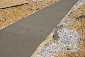 At skabe dekorative beton prøve bestyrelser