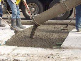 Hvordan man beregner kubikmeter beton