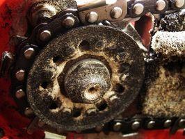 Hvordan til at erstatte den oliepumpe på en STIHL motorsav