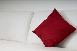 Sådan holder Sofa puder fra Sagging