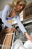 Demontering en opvaskemaskine Rack