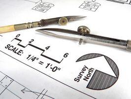 Hvordan man tegner med en skala lineal