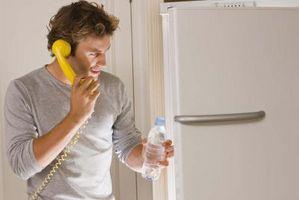 Sådan Fix et køleskab, der ikke er køling korrekt