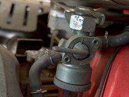 Specifikationer for en Holley røde brændstofpumpe