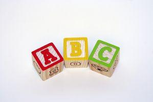 ABC børnehave temaer