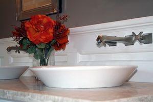 Forfængelighed & dræn for et badeværelse