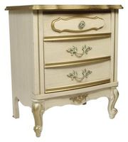 Hvad kan du sætte på hvide malede møbler at gøre det ser Antique?