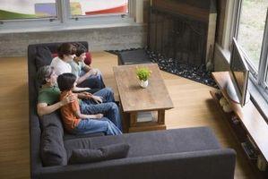Sådan Decorate med grå møbler & sort End tabeller