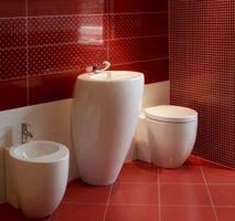 Hvad er den bedste gulve til brug i et badeværelse?