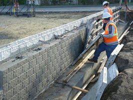 Om betonblok vægge
