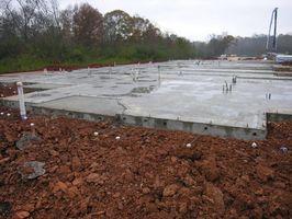 Sådan plads strålende rør i beton
