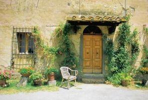 Hvordan man kan dekorere et hjem med en Tuscany tema