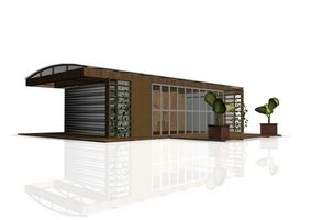 Hvordan man laver en tre-dimensionel hus Model