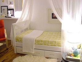 Hvordan man laver en sengehimmel seng