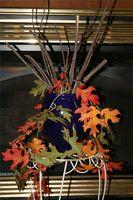 Hvordan man kan anvende efteråret blade til at dekorere et hjem