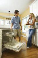 En venstre Side lækage på opvaskemaskine