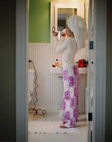 Om Teen badeværelse Decor